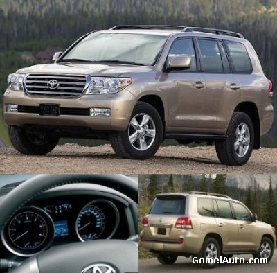 Toyota Land Cruiser 200 Repair Manual (RM0800U)