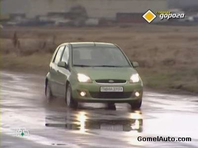 Видео тест обзор Ford Fiesta Mark6 2007 года выпуска