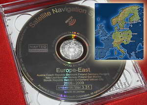 Навигация для автомобилей Honda: Alpine Honda 2009 Navigation DVD Eastern Europe v.3.31