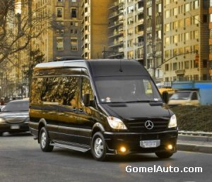 Mercedes-Benz Brilliant Sprinter: фургон для миллионеров