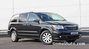 Обновленный Chrysler Grand Voyager