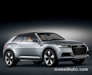 Представлен концепт-кар Audi Crosslane Coupe