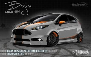 Ford Fiesta ST 2014 от Bojix Design