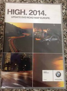 Навигация для авто BMW: NAVTEQ Road Map Europe HIGH RUS SL + Speedcam (2014)
