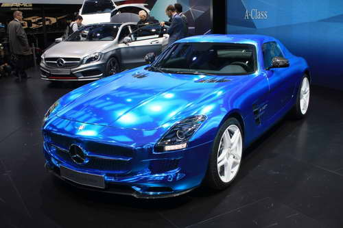 Обзор Mercedes-Benz SLS AMG Electric Drive