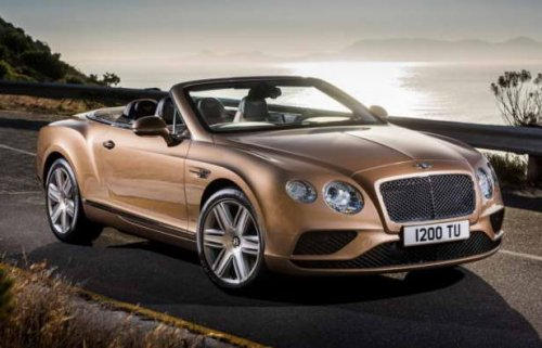 Обновлено семейство Bentley Continental GT