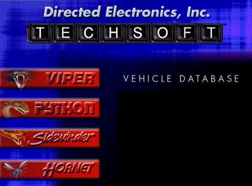 TechSoft Vehicle DataBase v5.40