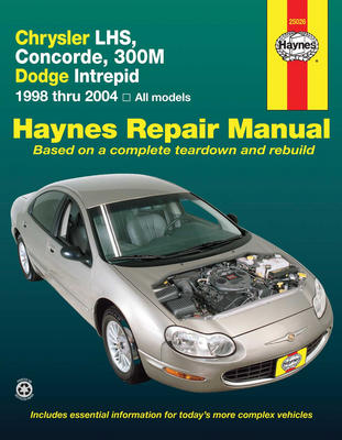 Руководство по ремонту Chrysler 300M / Concorde / LHS, Dodge Intrepid 1998 - 2004 года выпуска