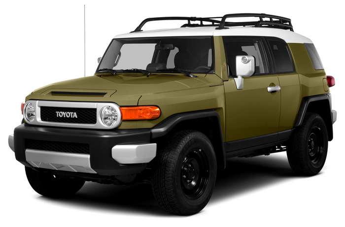 Toyota fj cruiser характеристики