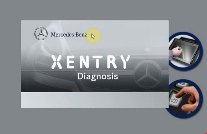 Программа диагностики Mercedes Xentry Diagnostics Open Shell XDOS 03.2019