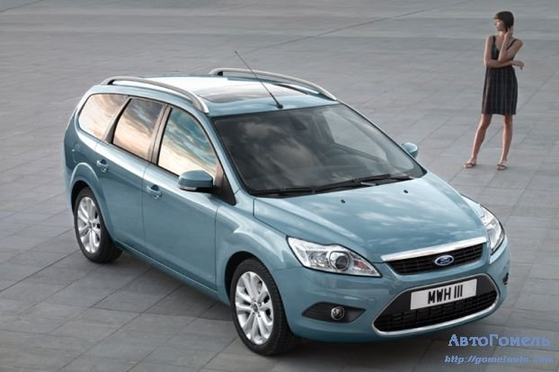 Ford Focus Station Wagon - рейстайлинг