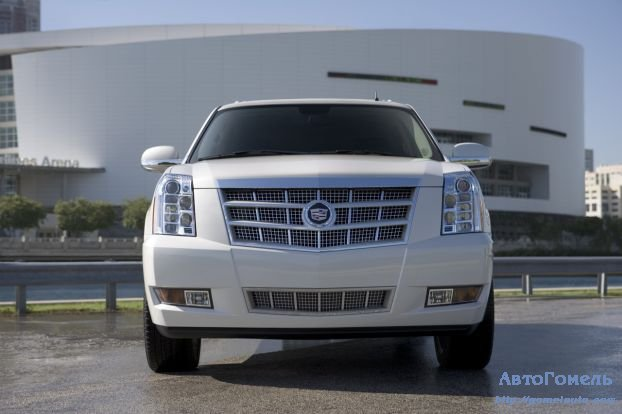 Cadillac Escalade Platinum Edition. Обзор, фото