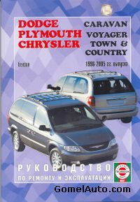 Руководство Dodge Caravan, Chrysler Town / Country, Plymouth Voyager