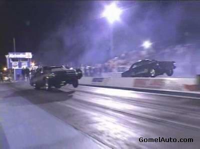 Уличные гонки аварии