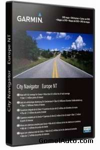 Garmin MapSource City Navigator Europe 2010.1NT (2009)