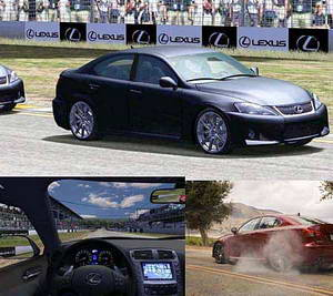 Lexus ISF Track Time (2008)