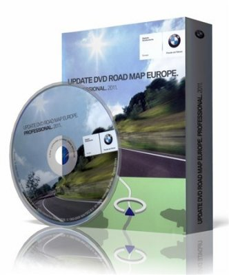 BMW Navigation DVD [Road map All Europe] Professional 2011 (2010/Multi) – 3xDVD