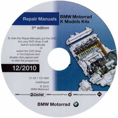 BMW MOTORRAD K1300GT K1300R K1300S SERVICE REPAIR MANUAL (12.2010)