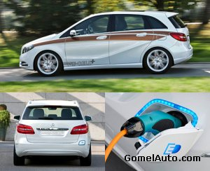 Электромобиль Mercedes B-Class E-CELL Plus Concept
