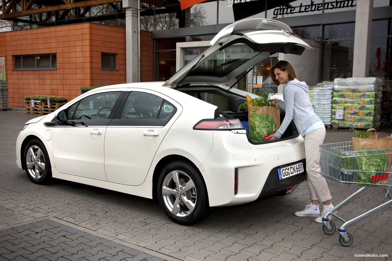 Фото нового авто Opel Ampera…