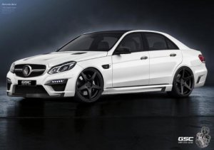Немецкий тюнер Special Customs Tunes поработал над Mercedes-Benz S-класса