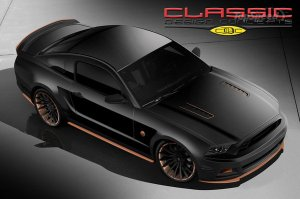 2014 Ford Mustang Bad Penny от тюнера Classic Design Concepts