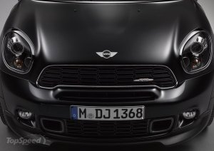 Mini Countryman 2014 и Paceman Frozen Black Limited Edition пополнят модельный ряд