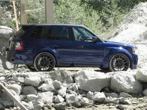 Тюнинг-пакет для Range Rover Sport Nighthawk 2013 от CDC International