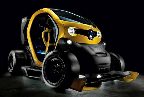 "Renault Twizy – ""мал золотник, да дорог"". Разработка Renault Sport Technologies."