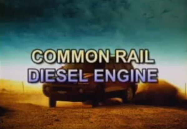 Видео о работе Common Rail Diesel Engine