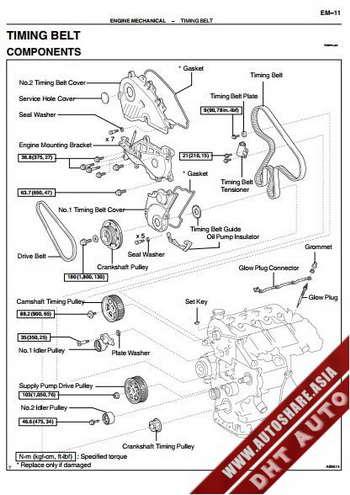 руководство по ремонту двигатель 1cd-ftv