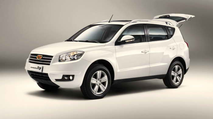 Geely Emgrand X7 2015 обзор